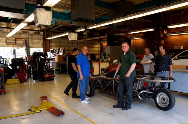 American River College looking at ChassisLab electric car kit from Electric Auto Shop